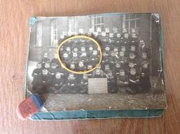 Dour Photo Originale Ecole Du Centre - Cartes Postales