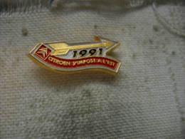 Pin's  CITROEN S'impose à L'Est En 1991 - Citroën