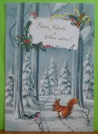 Auguri Buon Natale Felice Anno Cartolina Non Viaggiata - Natale