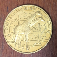 50 CHAMPREPUS LE ZOO LES GIRAFES MÉDAILLE ARTHUS BERTRAND 2007 JETON MEDALS TOKENS COINS - 2007