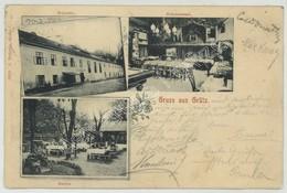 (Posen) Poznan. Gruss Aus Grätz. Grodzisk Wielkopolski. Bräuhaus. Brasserie. - Posen