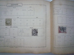 COLLECTION COLONIES PORTUGAISES Feuille Album Maury Ancien - A Voir - 34 Scans - Briefmarken