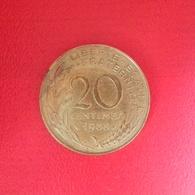 20 Centimes Münze Aus Frankreich Von 1985 (schön Bis Sehr Schön) - E. 20 Centimes