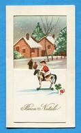 Noel Weihnachten Christmas Enfant Paysage (mignonnette A Systeme) - Non Classificati