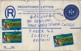 1979 , NIGERIA , SOBRE CERTIFICADO , PORT HARCOURT - JERSEY - Nigeria (1961-...)