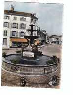 88 Remiremont Fontaine Monumentale Des Dauphins  CPSM GF Edit Estel N°7371 Carte Couleur - Remiremont