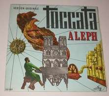 Aleph 45t Toccata Az France (Série Gémeaux – SG 185 France 1970) VG++ EX - Instrumental