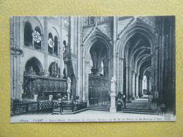 PARIS. Notre Dame De Paris. Le Pourtour Du Choeur. Les Statues De Notre Dame Et De Jeanne D'Arc. - Notre Dame De Paris