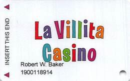 La Villita Casino - Henderson NV - Slot Card - Casino Cards