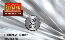 Skyline Casino - Henderson NV - Slot Card - Casino Cards