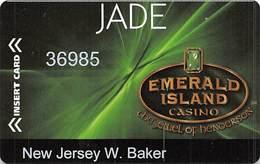 Emerald Island Casino Henderson NV - 2019 Jade Card Slot Card - Casino Cards