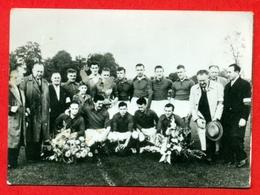 Waregem S.V. - 1957-1958 - Afdeling III A - Fotochromo 7 X 5 Cm - Football