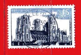 France °- 1960 - TOURISTIQUE.  Yvert.1235.  Oblitéré. Vedi Descrizione. - Gebraucht