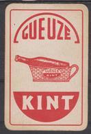 DOS Cartes à Jouer Classique (as De Pique) - PUB Bière - Gueuze  KINT - Barajas De Naipe