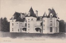 Bu - Cpa Plouigneau, Château Du Mur - France