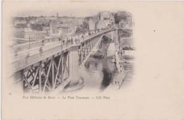 Bu - Cpa Port Militaire De BREST - Le Pont Tournant - Brest