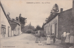 Bu - Rare Cpa DAMMARIE Sur SAULX - Rue De L'Usine - Andere Gemeenten