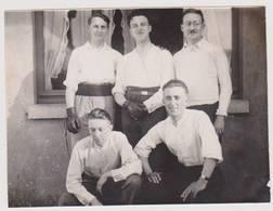 41065 -  Wemmel   Joueurs  Pelote  Koobe  1931 -  Photo  12  X  9  - 2  Scans - Wemmel