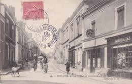 Bu - Cpa FENEU (49) - Rue Du Commerce - Sonstige Gemeinden
