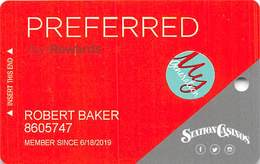 Station Casinos Las Vegas, NV - Slot Card Copyright 2018 With MyGeneration Senior Sticker - Casino Cards
