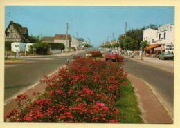80. FORT-MAHON-PLAGE – Le Rond Point Et L'Avenue De La Plage (animée)(voir Scan Recto/verso) - Fort Mahon