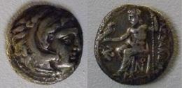 POSTUME DI ALESSANDRO MAGNO DRACMA DI LAMPSACO (?) ARGENTO GR 3,90 (10/04) - Grecques