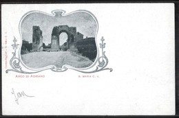 SANTA MARIA CAPUA VETERE - CASERTA - 1900 - ARCO DI ADRIANO - Caserta