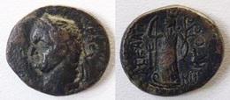 PROVINCIALE ROMANA- VESPASIANO BRONZO- ZECCA DI ASKALON IN GIUDEA (?) DA MEGLIO   DETERMINARE (10/06) - Römische Münzen