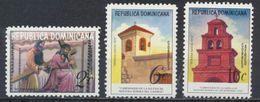 °°° REPUBBLICA DOMINICANA - Y&T N°733/34 + 251 PA - 1973 MNH °°° - Repubblica Domenicana