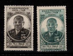 Inde - YV 234 & 235 N** Eboué - Unused Stamps