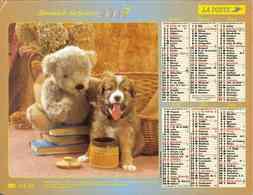 °° Calendrier Almanach La Poste 2003 Lavigne - Dépt 32 - Chiens Et Chats - Kalenders