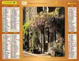 °° Calendrier Almanach La Poste 2003 Lavigne - Dépt 32 - Vues Fleuries De Brousse-le-Château Et Grimaud - Kalenders