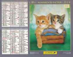 °° Calendrier Almanach La Poste 2004 Oller - Dépt 32 - Chatons - Kalenders