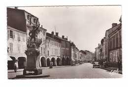 88 Remiremont La Grand Rue Vue D' Ensemble Des Arcades CPSM PF Edit Estel N°7334 - Remiremont