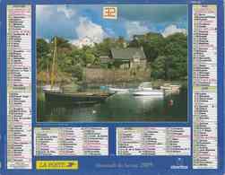 °° Calendrier Almanach La Poste 2005 Oberthur - Dépt 32 - Doëlan Finistère - Calendari