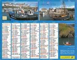°° Calendrier Almanach La Poste 2006 Cartier Bresson - Dépt 32 - Bateaux De Pêche Et Moissons Diverses - Kalenders
