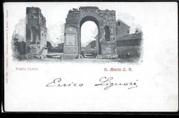 SANTA MARIA CAPUA VETERE - CASERTA - 1900 - PORTA CAPUA - Caserta