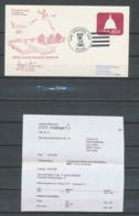 2944 Espace Space Entier Postal Cover Signé Signed Autograph Usa Las Cruces Start Sts-8 Shuttle Challenger 30/8/1983 - Estados Unidos