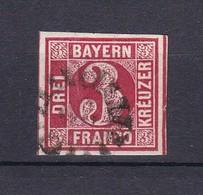 Bayern - 1862 - Michel Nr. 9 B Rand - Bayern