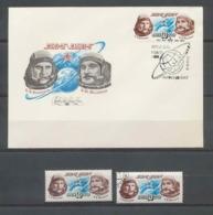 3390 Espace (space Raumfahrt) Lettre Cover Russie (Russia Urss USSR) 4282 Soyuz (soyouz Sojus) 21 Fdc + Mnh ** 8/10/1976 - Russia & URSS