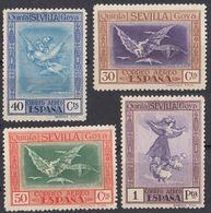 ESPAÑA - SPAGNA - SPAIN - ESPAGNE - 1930 - Lotto Composto Da 4 Nuovi Senza Gomma Di Posta Aerea: Yvert 43/46. - Luftpost