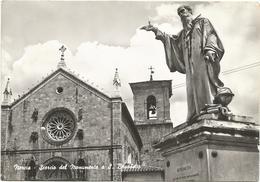 W3690 Norcia (Perugia) - Scorcio Del Monumento A San Benedetto / Viaggiata 1966 - Italia