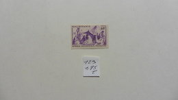 France (ex-colonies & Protectorats) > Mauritanie :timbre N° 129 Oblitéré - Oblitérés