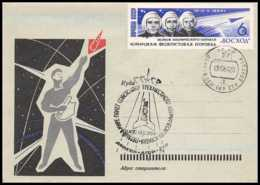 4196/ Espace (space Raumfahrt) Lettre (cover Briefe) 13/10/1964 Voskhod 1 Russie (russia Urss) - Russia & URSS
