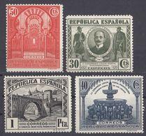 ESPAÑA - SPAGNA - SPAIN - ESPAGNE - 1931 - Lotto Composto Da 4 Valori Nuovi Senza Gomma: Yvert 516/519. - 1931-Heute: 2. Rep. - ... Juan Carlos I
