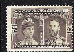 CANADA 1908 SCOTT 96 MNH CAT VALUE US $12 - 1911-1935 Reign Of George V