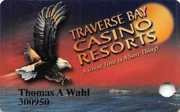 Grand Traverse Resort & Casinos - Michigan, USA - Slot Card - Casino Cards