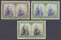 ESPAÑA - SPAGNA - SPAIN - ESPAGNE - 1928 - Lotto Composto Da 3 Valori Nuovi Senza Gomma: Yvert 342, 355 E 356. - Nuovi