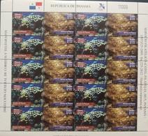 O) 2002 PANAMA - CORALS - MARINE INVERTEBRATES - MONTASTRAEA ANNULARIS - PAVONA CHIRIQUIENSIS- SC 902, MNH - Panama