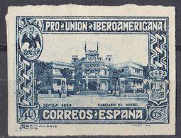ESPAÑA - SPAGNA - SPAIN - ESPAGNE - 1930 - Yvert 467 Nuovo Non Dentellato E Senza Gomma. - Nuovi